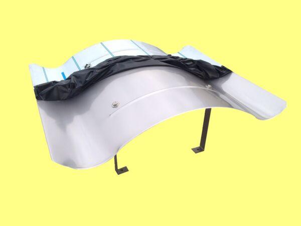 Aus Dem Ausland Importiert Grömo Zink Wasserfangkasten Trichterform Dn 87 Fürs Dach Heimwerker