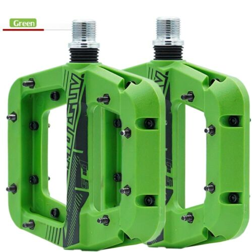 """MTB Road Bike Bicycle Bearing Widen Pedals Nylon 9//16/"""" Pedals a Pair 5 Styles"""