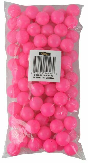 19mm Yellow 100 Pack Fairly Odd Novelties 3//4 Mini Ping Pong//Table Tennis//Beer Pong Round Balls
