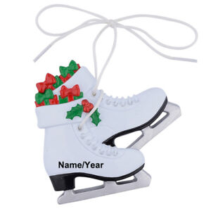Girl-039-s-Ice-Skating-Shoes-Skater-Personalized-Ornament-Christmas-Gifts
