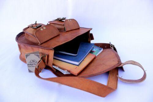 Women Vintage Leather Messenger Hip Cross Body Bag Handmade purse Hobo Tote Bag