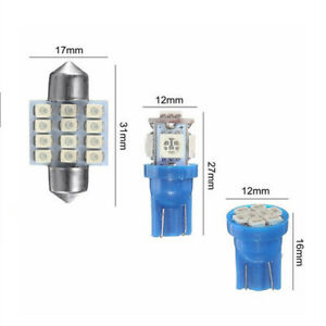 13x-Auto-Car-Interior-LED-Lights-Kit-Accessories-12V-For-Dome-License-Plate-Lamp