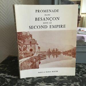 Promenade All'Interno Di Besançon Sotto Il Second Empire Andre E Robert Parete