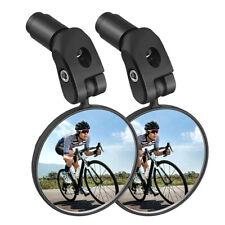 Cycling Bike Bicycle Cycle Handlebar Flexible Rear View Rearview Mirror W4P7