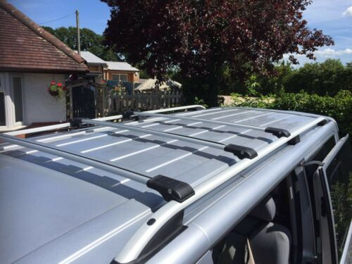 LOCKABLE CROSS BARS SET LWB LOADING 90 KG 3x VW TRANSPORTER ROOF RAIL RACKS