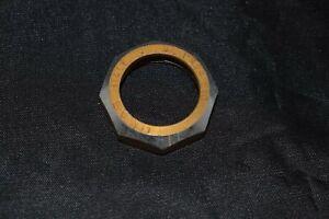 OMAS-1-039-039-x24-Headset-Top-Lock-Nut-aluminium-gold-silver-Italy-vintage-NOS