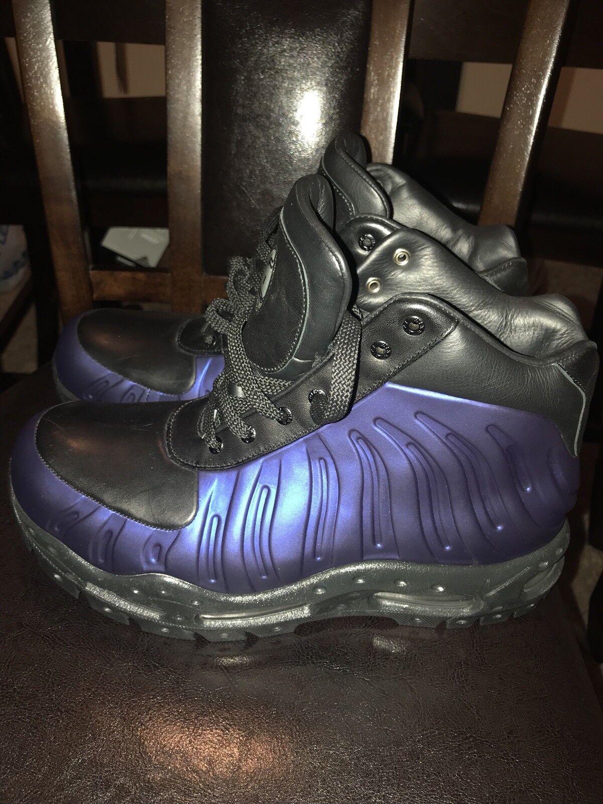 nike nike nike mens air max foamdome boots eggplant size 9 bd5d45