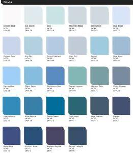Leyland Paint Blue Blue Bijou Ebay