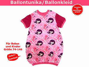 Ballontunika-Ballonkleid-fuer-Kinder-naehen-Schnittmuster-und-Naehanleitung