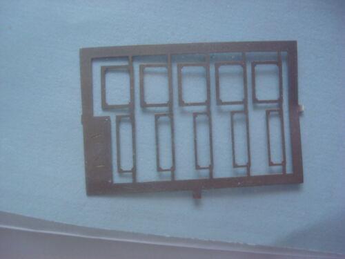 FOTOINCISIONI 1//43 PORTATARGA 5 ANTERIORI E 5 POSTERIORI