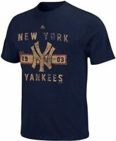 York Yankees Mlb Vintage Cooperstown Collection Men's T-shirt - Size: Large