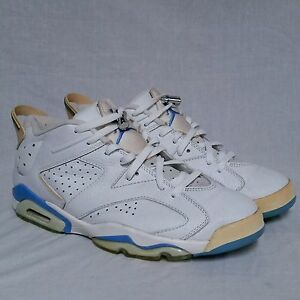 1ab8f35d3e50 Nike Air Jordan Retro 6 vi Low Carolina UNC University Infrared ...