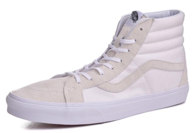 4b4a747300 VANS Sk8 Hi Reissue Ca Vansguard True White Men s Skate Shoes Size ...