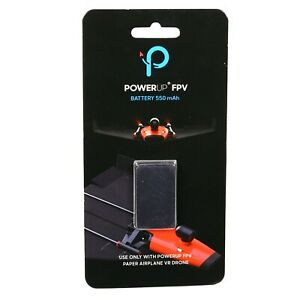 PowerUp-FPV-Paper-Airplane-VR-Drone-Minidrone-Parrot-550mAh-Rechargeable-Battery