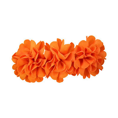 Flower Hair Clip Colorful Fun Pretty Fashion Girls Barrette Hair Accessory New