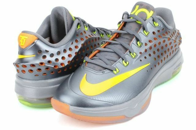 Nike homme KD VII Elite Bl Grpht/Vlt/Brght Ctrs/Dv Gry Basketball chaussures 10 New