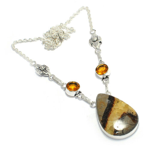 Christmas!!!Free Shipping Mix-Stone 925 Silver Gemstone Jewelry Necklaces 16-18/'