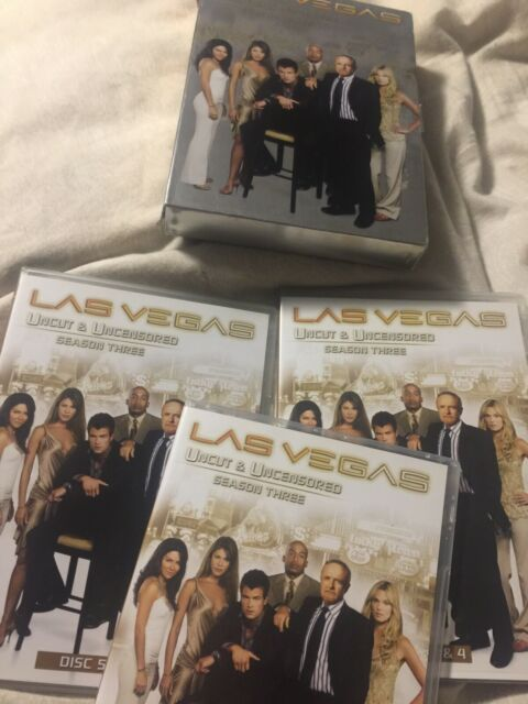Las Vegas Third Season 3 Three Uncut Uncensored DVD Oop Missing Disc 1-2