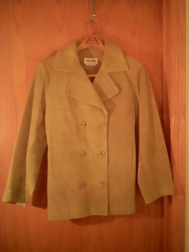 Bagatelle brand green leather/suede  jacket, M, do