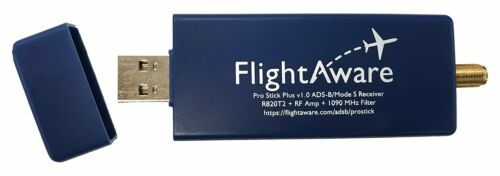 FlightAware Pro Stick Plus ADS-B USB Receiver with Built-in Filter MicroSD