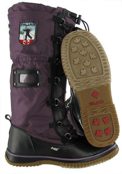 Pajar purple girls boots size 35
