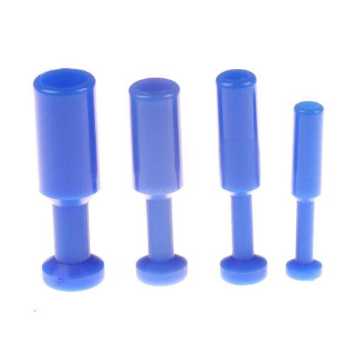 Nylon Pneumatische Blindstopfen Schlauch Rohr Push-Fit-Anschluss Luftleitung