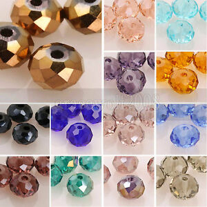 5040-6mm-Rondelle-Austria-Crystal-Beads-Loose-Color-Pick-100pcs-Free-Shipping