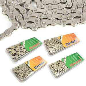 F80 Bicycle Chain Gold 8Speed MTB Road Bike Chain 24S Solid Palte Bike parts New