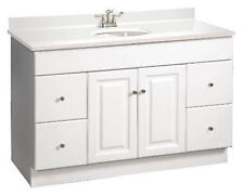 New White Bathroom Vanities Design Ideas