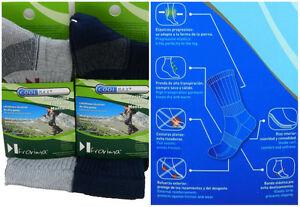 2-Pares-de-calcetines-COOL-MAX-montana-mantiene-el-pie-fresco-y-seco-Espana