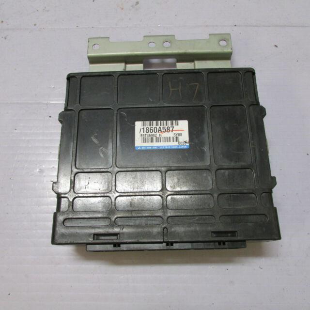 Mitsubishi Lancer Wagon Ecu Engine Control Unit 1860a587