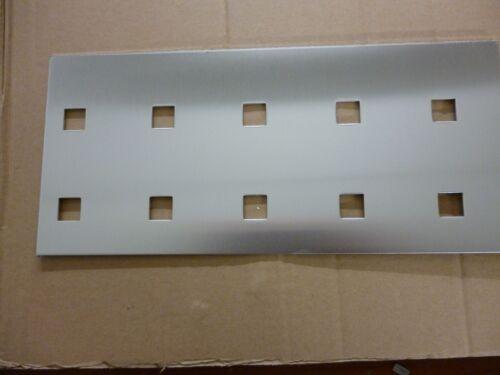 Aluminium Lochblech  Balkonverkleidung QG 15-60 2 mm Länge1000 mm Breite wählbar