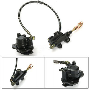 Rear-Brake-Master-Cylinder-Caliper-Assembly-50-70-90-110-125CC-ATV-PIT-DIRT