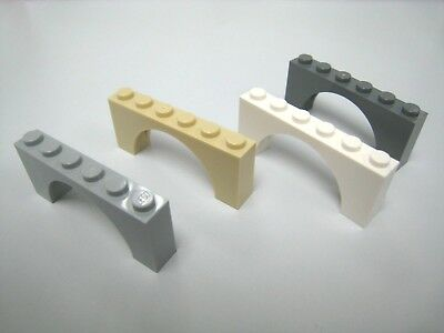 Lego Brick Arch 1 x 6 Raised Arch Parts Pieces Lot Building Blocks ALL COLORS