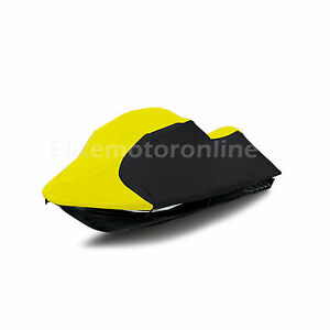 Yamaha SuperJet Standup Deluxe JetSki PWC Cover 1990 -1995 Yellow/blk