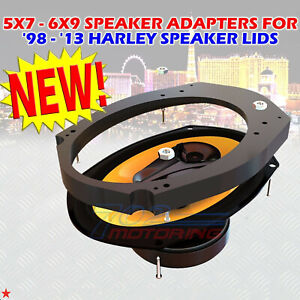 Details about 9x9 to 9x9 SPEAKER ADAPTERS FOR 9 THROUGH 9 HARLEY  DAVIDSON SPEAKER LIDS 9