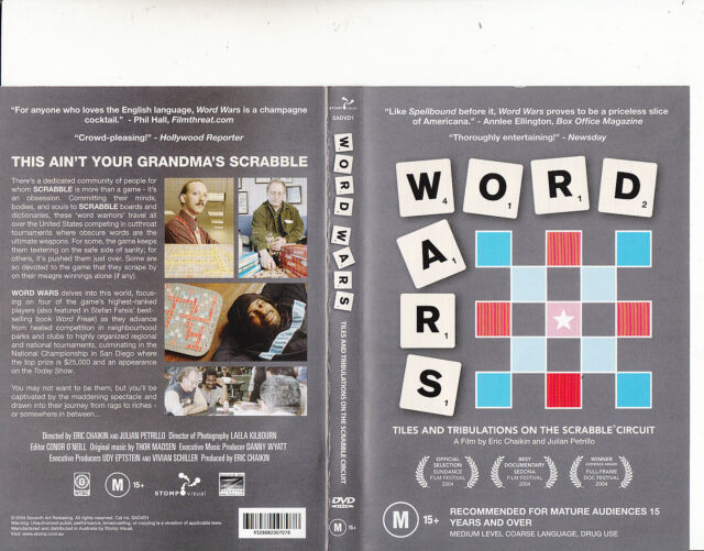 Scrabble-Word Wars:Tiles And Tribulations on The Scrabble Circuit-Scrabble-DVD