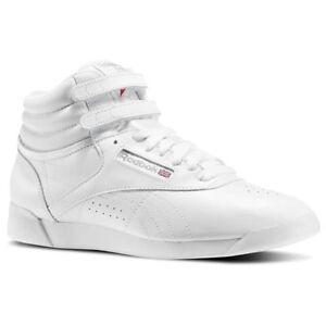 Zapatillas Reebok Freestyle HI Blanco 40 5 Blanco rfqYa0zf