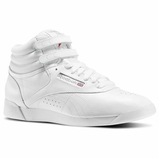 Womens Freestyle Hi Leather Sneakers Reebok Outlet 2018 Unisex 2018 Cool Clearance Classic JiRtJl6Ek