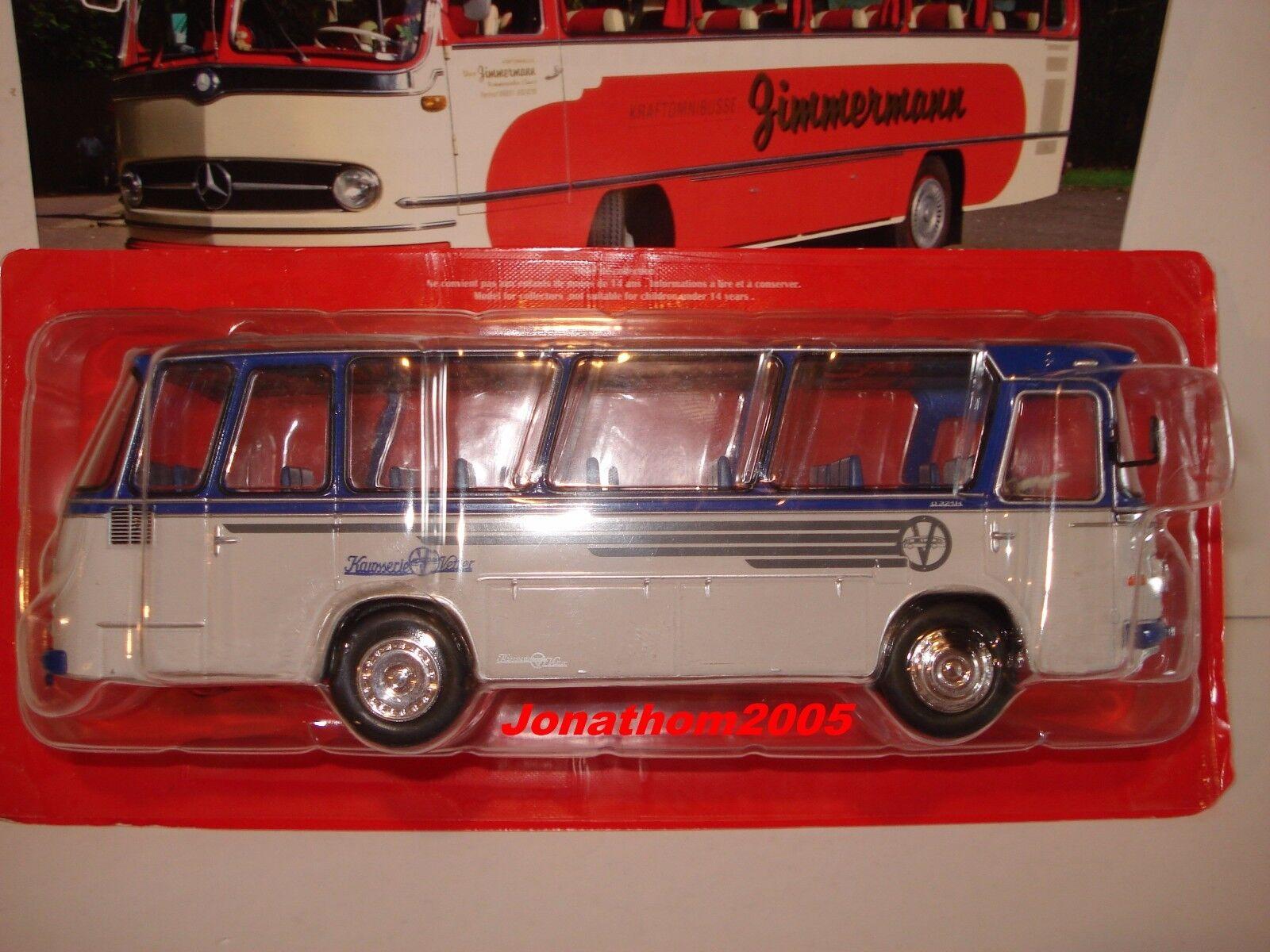 AUTOBUS & AUTOCARS DU MONDE - - - MERCEDES BENZ 0 321HL VERSION 1962 ALLEMAGNE 1 43° cbf9b6