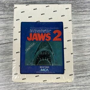 Jaws-II-2-Motion-Picture-Horror-Movie-Soundtrack-8-Track-Tape-Cartridge-Unopened