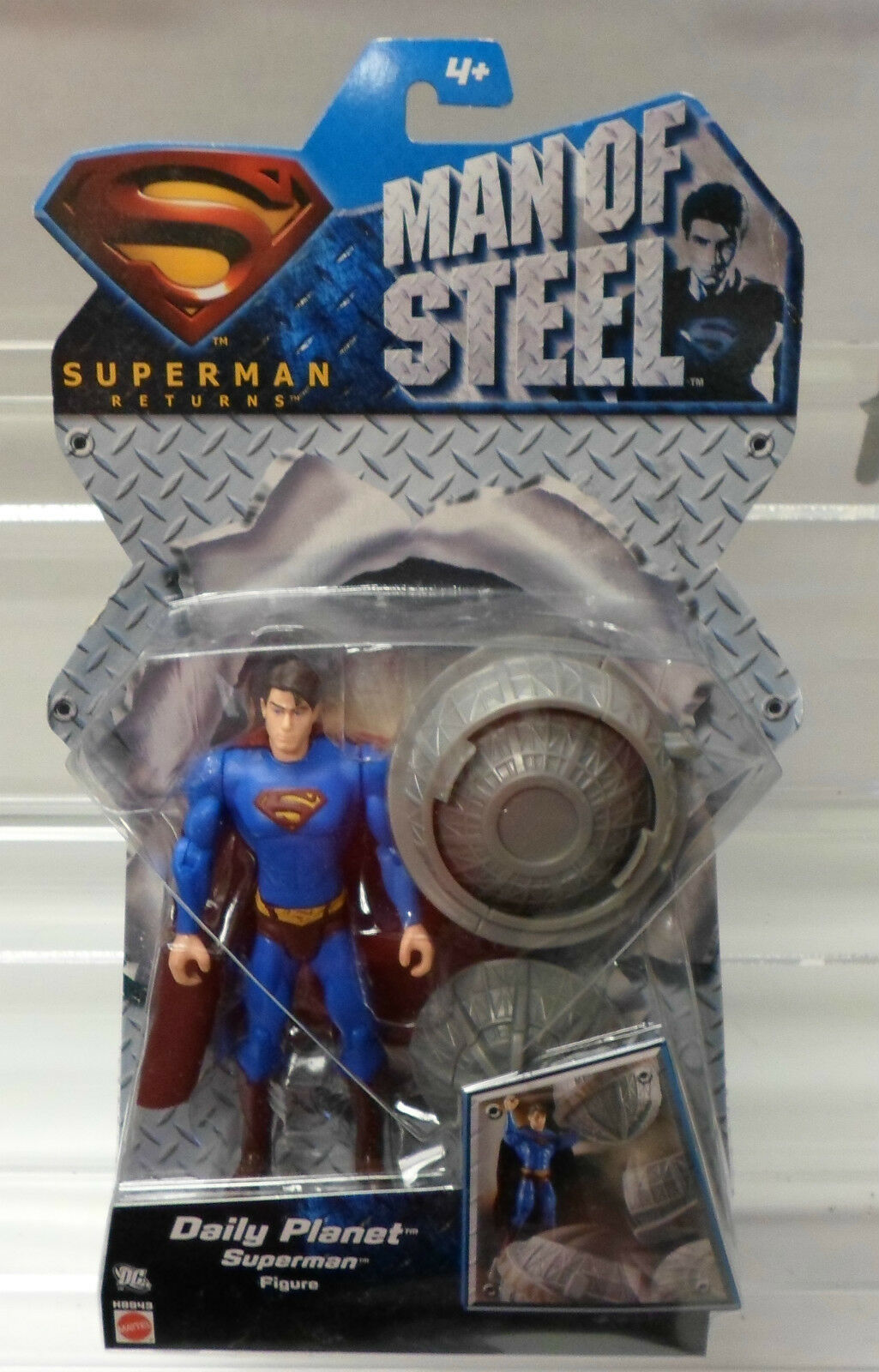 Superman Returns Man Of Steel Daily Planet Superman Figure