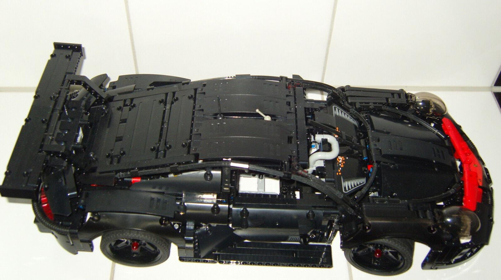 1.580 LEGO TECHNIC ELEMENTE + KLEMMBAUSTEINE -  TECHNIK MOC EIGENBAU UNIKAT TOP