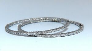 4-07ct-Natural-round-brilliant-in-out-diamond-hoop-earrings-14-Karat-2-2-Inch