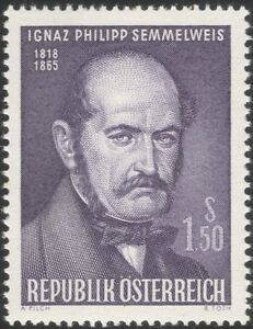 Austria-1965-Dr-I-Semmelweis-Physician-Doctor-Medical-Health-People-1v-at1081a