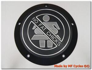 Kupplungsdeckel-Derby-Cover-Harley-Davidson-Softail-Dyna-Glide-HD-No-Fat-Chicks