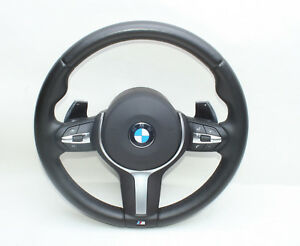 BMW F10 F11 F07 F06 f01 f12 F13 M-Sport Lenkrad Schaltwippen VIBRO+HEAT Steering