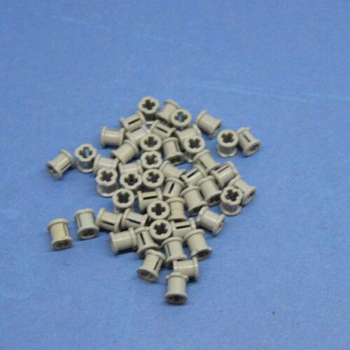 LEGO 50 x tecnica STOPPER anello di distanza althell GRIGIO OLD GREY Technic 6590 3713