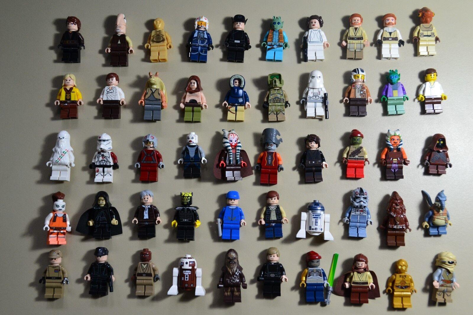 Lego - star - wars - minifigures menge.