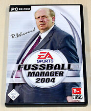 FIFA FUSSBALL MANAGER 2004 - PC SPIEL - EA SPORTS